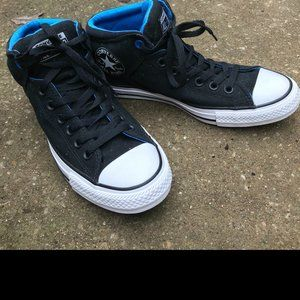 Converse All Stars Canvas Chuck Taylor Black Sz 8